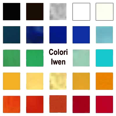 The different historical use of color
