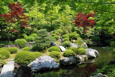 Concetti di architettura giapponese giardini - Giardini di montagna ...