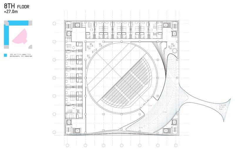 Le nuove frontiere dell 39 architettura il cubo tek3 di for Piani principali del padrone del piano principale